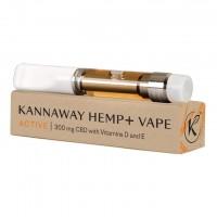 "HempVAP ""Aktiv"" - mit Eukalyptusgeschmack, 300 mg Kartusche"
